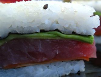 Sanduíche de Sushi