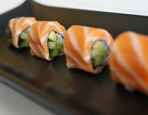 Rolinho Ascendente @ Receita de Sushi